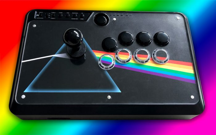 Dark Side Of The Moon Custom Arcade Fightstick